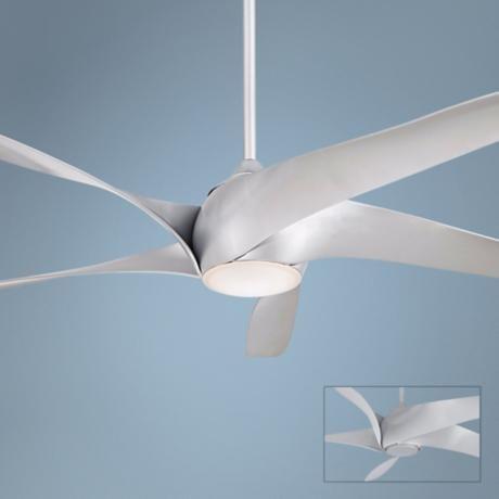 """62"""" Artemis XL5 Silver Ceiling Fan"""