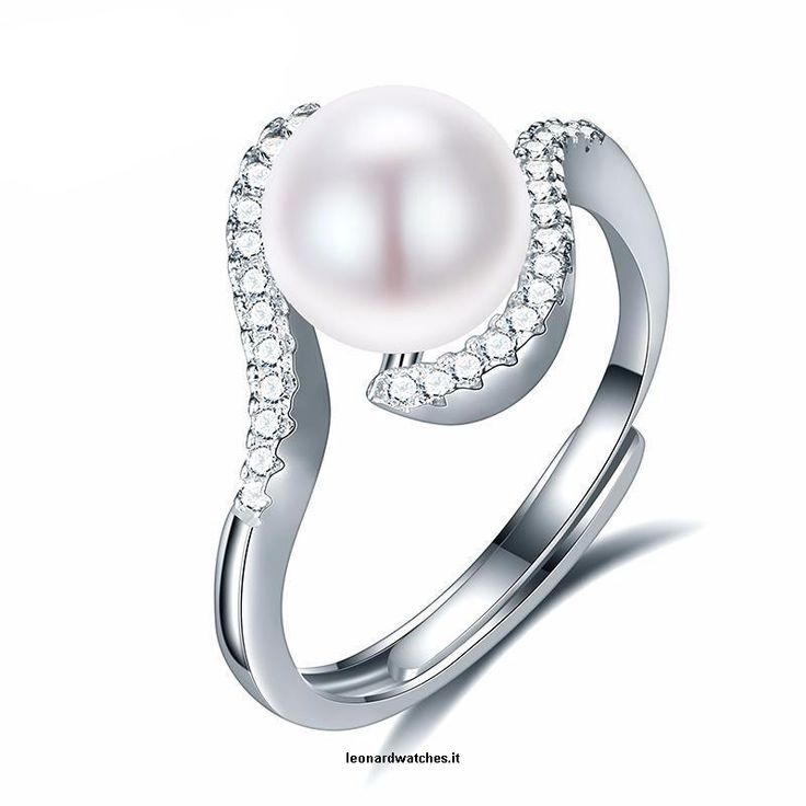 Natural Freshwater Pearl 925 Silver Ring  Vendor:  Leonardwatches          Type:            Price:              20.66                          Pearl Type:  Freshwater Pearls    Size Per Pearl:  8-9mm    Metals Type:  Silver    Shape\pattern:  Plant    Metal Stamp:  925,Sterling    Main Stone:  Pearl    Pearl size:  8-9mm  https://www.leonardwatches.it/products/natural-freshwater-pearl-925-silver-ring