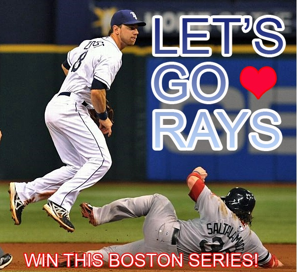 TAMPA BAY RAYS Start A 3 Game Series With Double Header Against Boston