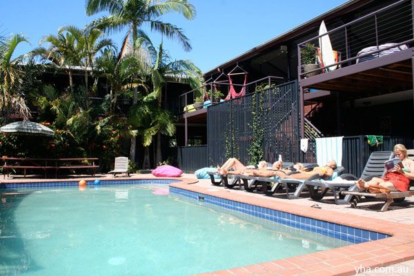 Byron Bay YHA Backpackers Hostel - $30/night; separate male and female rooms