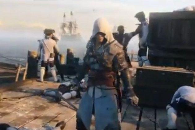 Assassin's Creed 4: Black Flag Leaked Trailer.