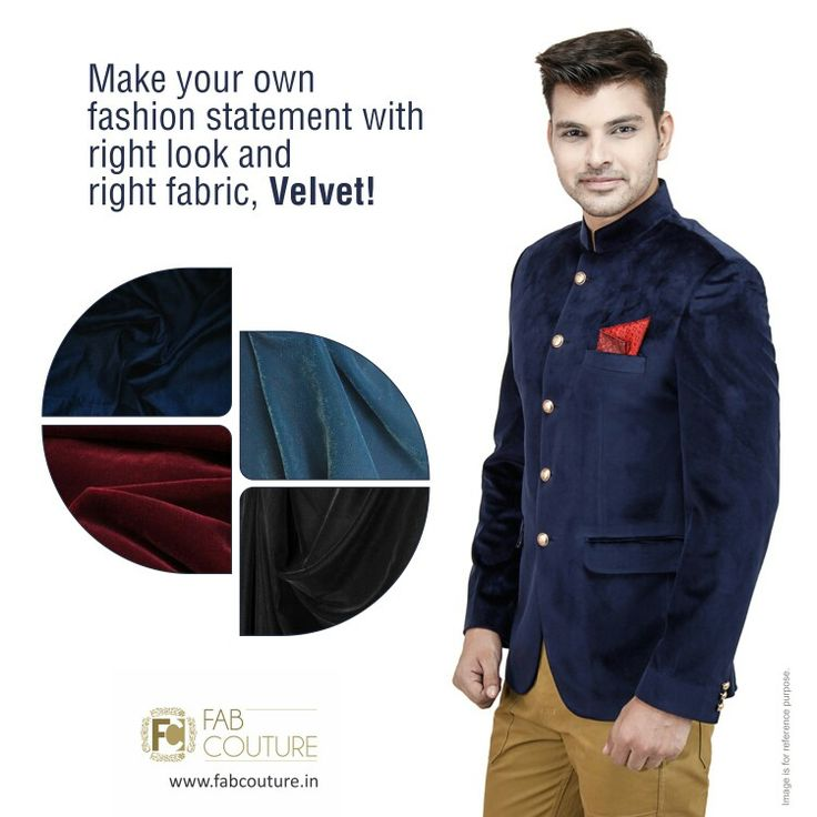 Make your own fashion statement with right look and right fabric #Velvet! with #FabCouture! #DesignerFabric at #AffordablePrices.  Buy your stock of fabric from: https://fabcouture.in/fabrics/plains/velvet.html #DesignerDresses #Fabric #Fashion #DesignerWear #MenFashion #ModernWomen #Saree #DesiLook #ClassiLook  #Embroidered #WeddingFashion #EthnicAttire #WesternLook #affordablefashion #GreatDesignsStartwithGreatFabrics #LightnBrightColors #StandApartfromtheCrowd #EmbroideredFabrics