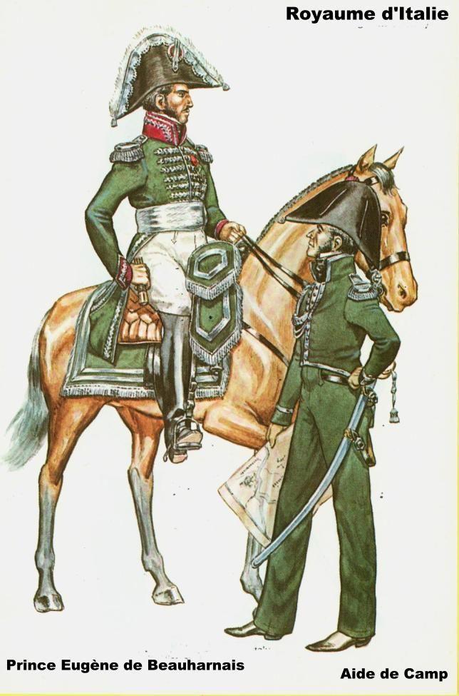 Prince Eugène de Beauharnais & Aide de Camp- 1812