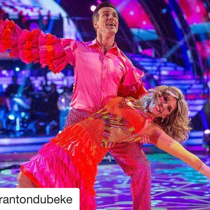 And here it is....THAT outfit!!!#Repost @mrantondubeke  Thank you so much my loves!! We are so happy to be through to next week and we are SO grateful for all your votes!! Sending hugs to you all  #scd #results #samba #dance #partner #week6 #halloween #love
