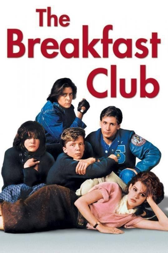 CLUB DOS CINCO Breakfast Club (1984) Dear Mr. Vernon, we accept the fact that we had to sacrifice a whole Saturday in detention for whatever it was we did wrong. What we did *was* wrong. But we think you're crazy to make an essay telling you who we think we are. You see us as you want to see us... In the simplest terms, in the most convenient definitions. But what we found out is that each one of us is a brain...
