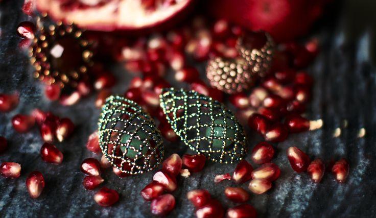 The customizable jewelry Made in Italy daniela de marchi  pomegranate