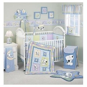 peek a boo snoopy nursery