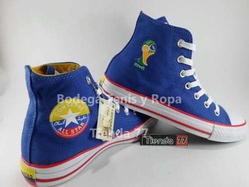 Converse Bota All Star Seleccion Colombia Mundial 2014