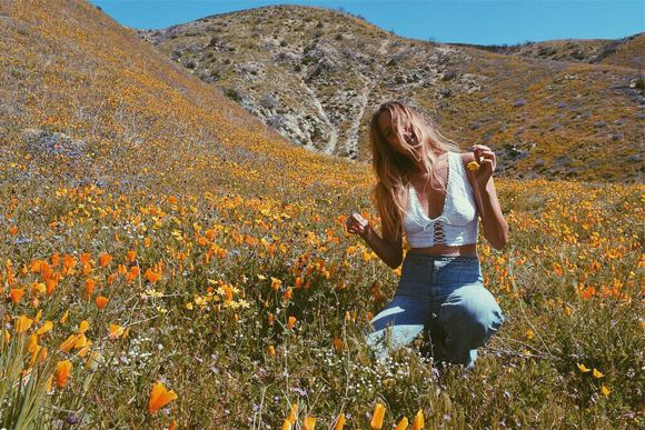 Among the Wildflowers   Free People Blog #freepeople