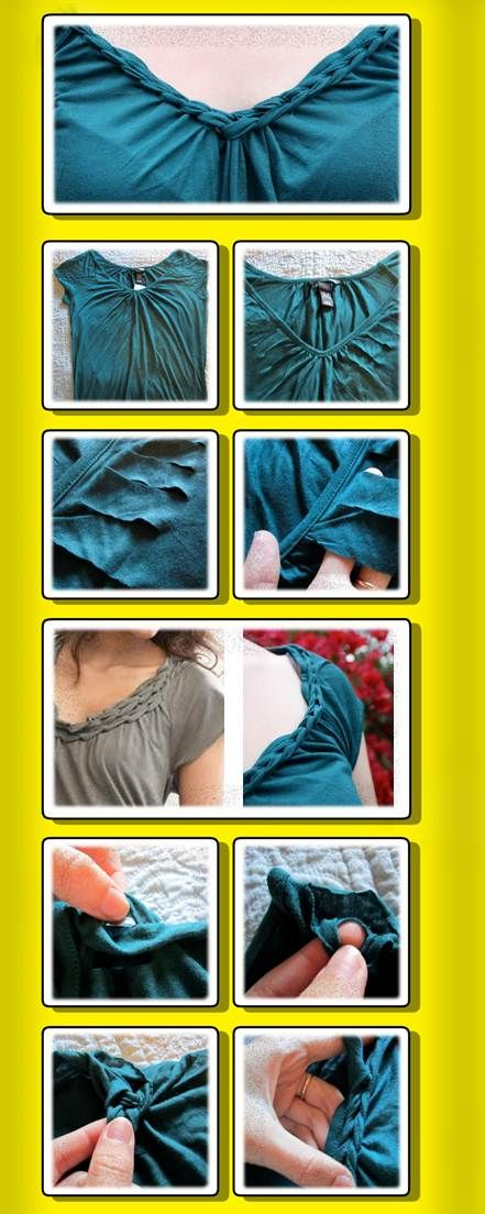 1000+ Ideas About Cut Tee Shirts On Pinterest