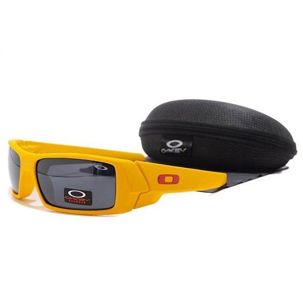 cheap oakley gascan polarized sunglasses  $15.99 replica oakley gascan sunglasses black lens yellow frames shop deals racal