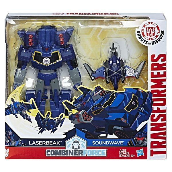 Official Pics for Soundwave & Laserbeak Activator Transformers Combiner Force Figure Set