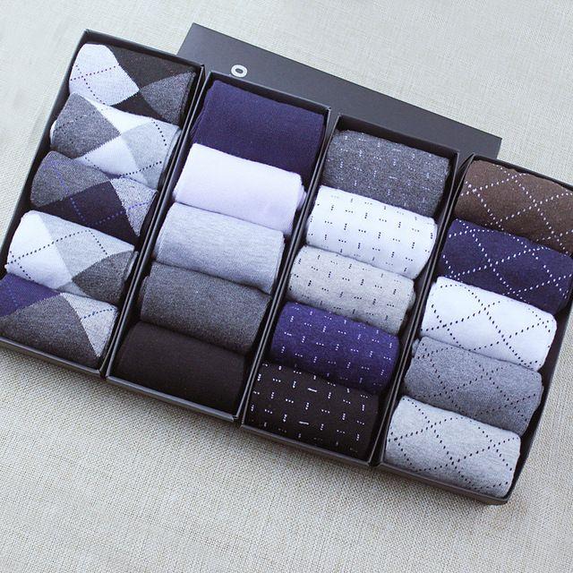 2016 New HOT Cotton classic business brand man socks,sports socks,Basketball socks, men's socks spring 5pairs=1lot gift box