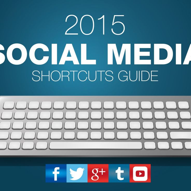 The 2015 Social Media Keyboard Shortcuts Guide – Infographic