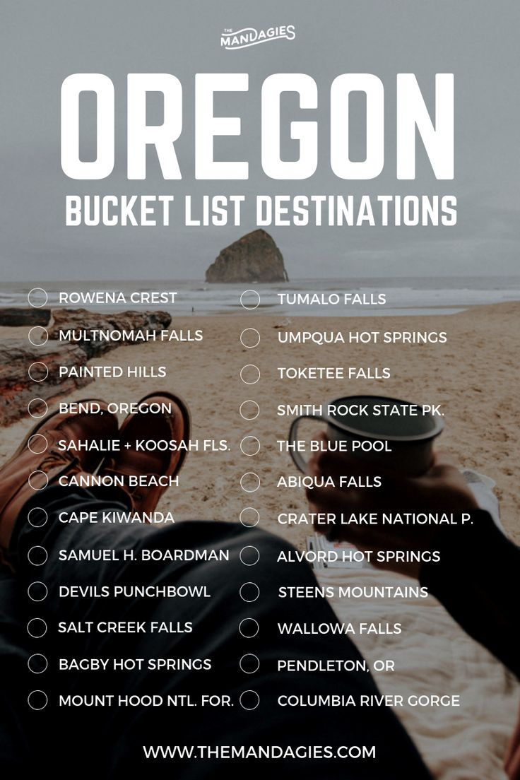 Oregon Bucket List. Save this pin for Pacific Northwest travel inspiration later…