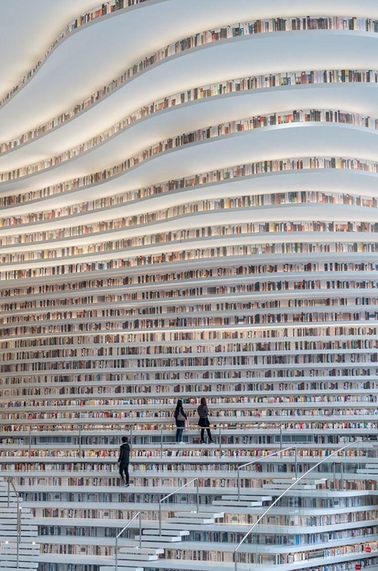 Take A Look at the World's Coolest Library
