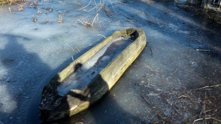 #freeze #boat #and #lake