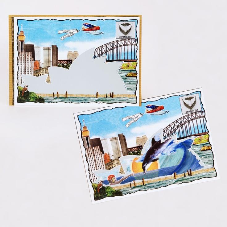 The iconic sydney opera house, teleports you intoa surrealAustralian beach