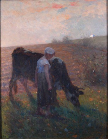 Early Morn, 1892, Carl von Marr, Museum of Wisconsin Art, 0028.
