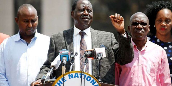 Kenyan opposition leader withdraws from repeat presidential poll