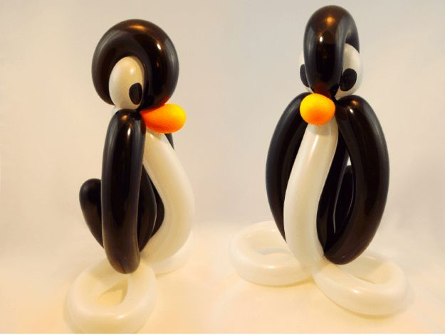Penguin Balloon Animal | How To Make Balloon Animals