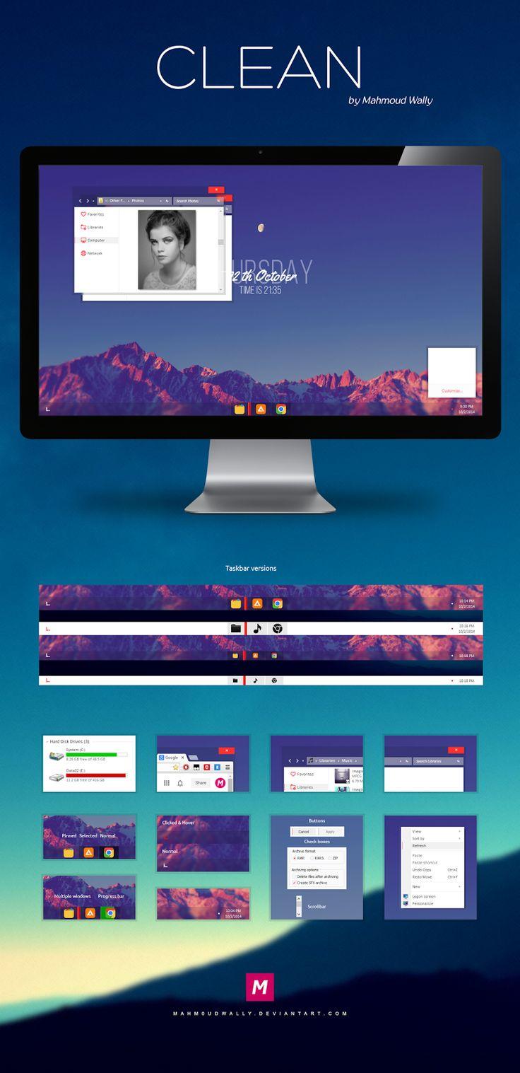 Cleodesktop Mod Desktop Clean Black Aero Theme For