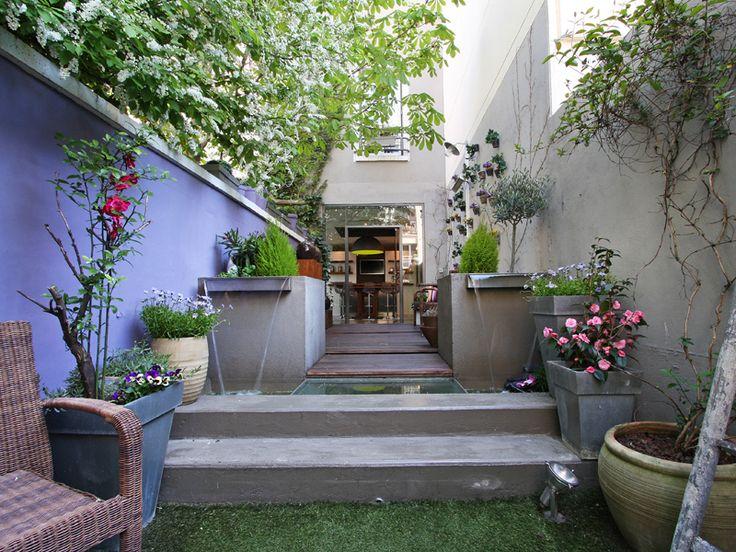 Paris maison loft avec jardin maisons de r ve pinterest for Loft jardin paris
