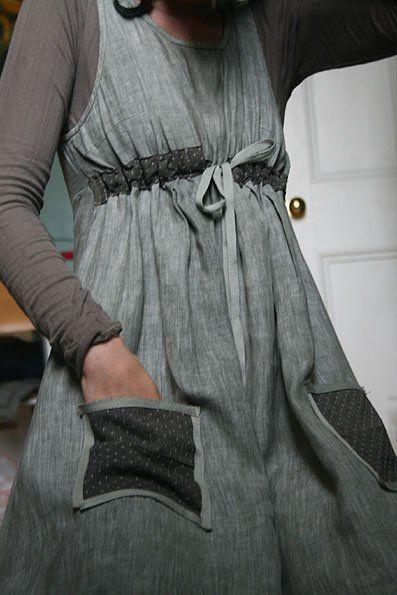 Summer dress diy tufted