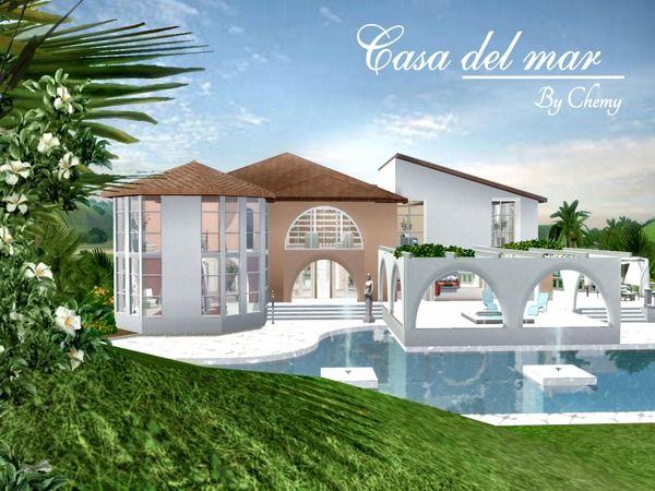 Casa del mar, Mediterranean villa by chemy - Sims 3 Downloads CC Caboodle