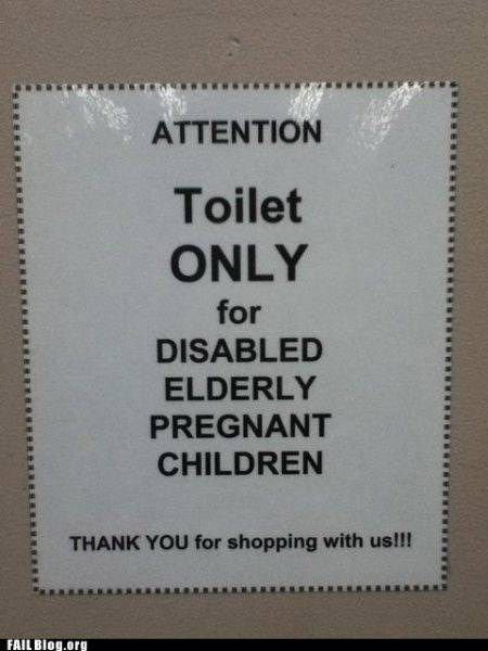 This is why we need commas.: Signs, Laughing, Pregnant Children, Disabilities Elder, Paragraph, Toilets, Funny Stuff, Humor, Grammar
