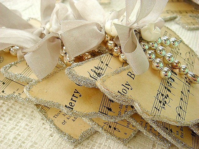 Love these handmade Christmas ornaments these would be cute with those others you found