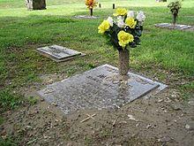 Grave of James Michael Moore Crittenden Memorial Park Cemetary Marion Arkansas West Memphis 3