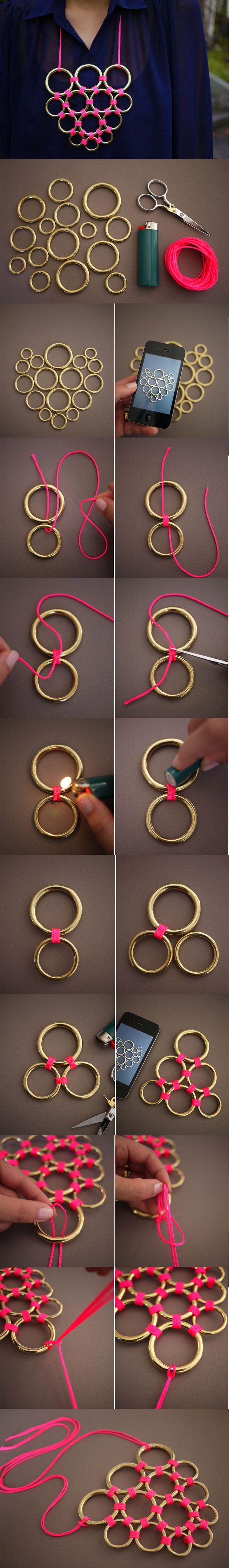#DIY #NecklaceIdeas