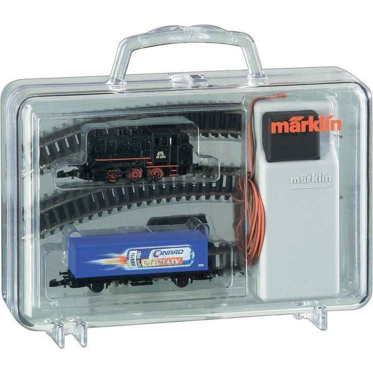 Marklin Z Gauge 98056 CONRAD ENERGY STARTER SET (new in box)