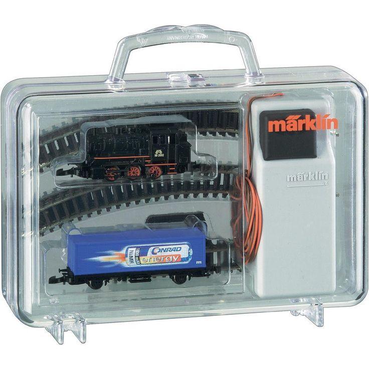 Marklin Z Gauge 98056 CONRAD ENERGY STARTER SET (new in box)