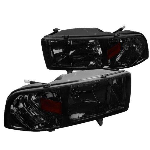 Dodge Ram Sport Model 1500 2500 Head Lights Women S Smoke Dodge Ram Sport Dodge Ram 1500 Accessories Dodge Ram 1500