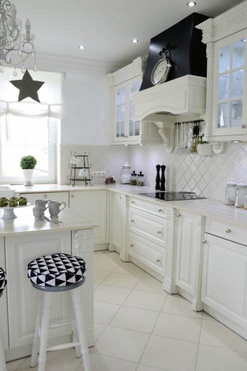 Kuchnia - Z wizytą u blogerki - jak mieszka autorka bloga Baśniowy Dom?