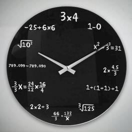 Horloge Murale Maths - MisterDiscount