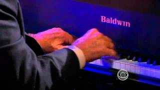 "CBS Sunday Morning is one of my fav shows. I didn't know host, Charles Osgood, plays the piano and can sing.  Two more reasons for me to like him. :) -m :: Charles Osgood performs ""I'll be Home for Christmas"", via YouTube."
