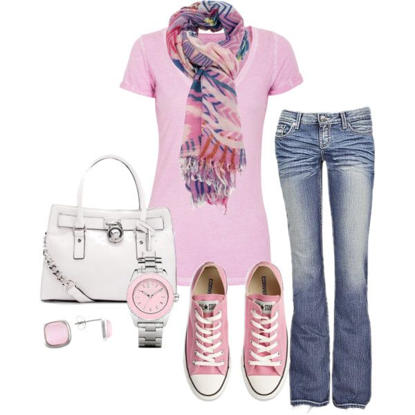 Sporty, created by honeybee20 on Polyvore ; Simple and cute.