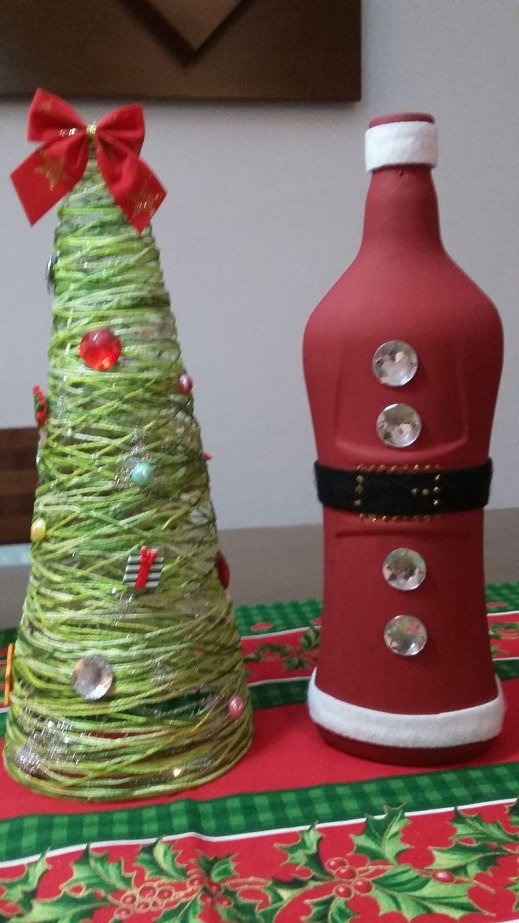 Árvore de Natal + Garrafa