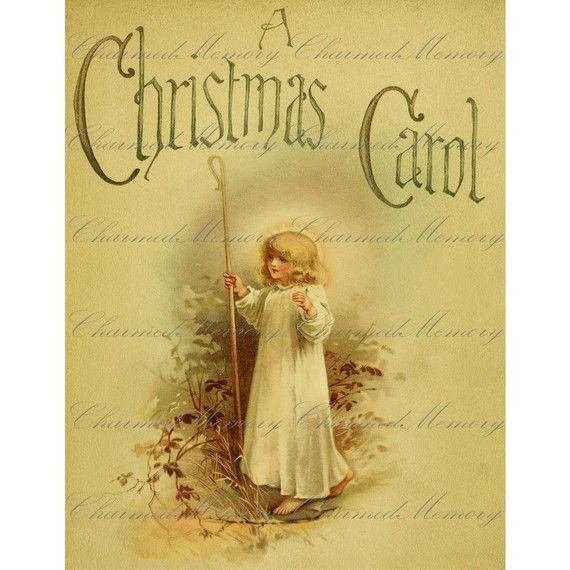 INSTANT Download  Victorian Christmas by CharmedMemoryCollage
