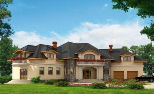 Projekt domu PT San Marino SZKIELET DREWNIANY - DOM PT5-74 - gotowy projekt domu