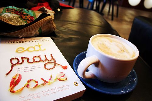 Eat, Pray, Love Discussion Questions | Over the Rainbow Under My ...