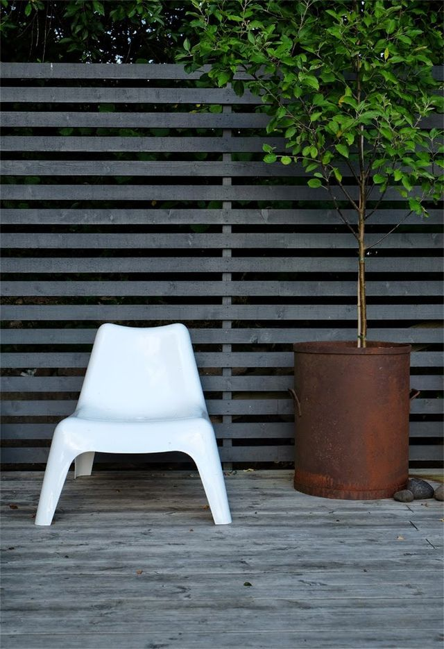 Simple Outdoor Seating
