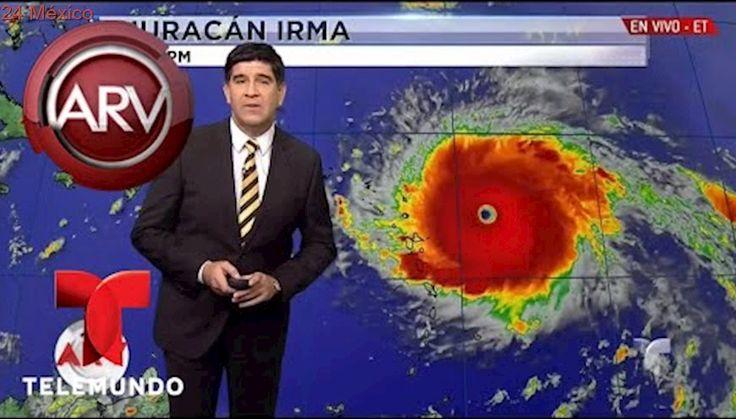 Irma se convirtió en un monstruoso huracán   Al Rojo Vivo   Telemundo