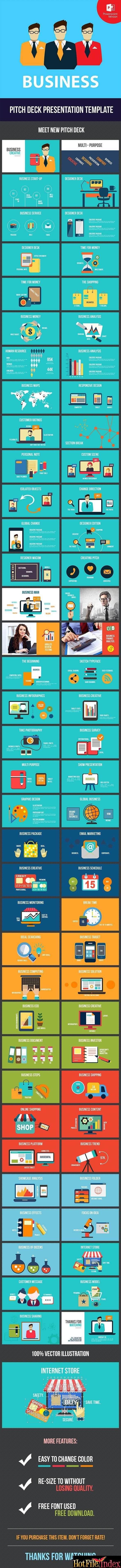 GraphicRiver   Pitch Deck  BUSINESS Keynote From HotFileIndex