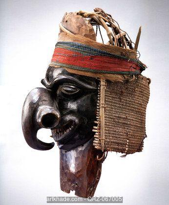 A Kanak Mask, New Caledonia