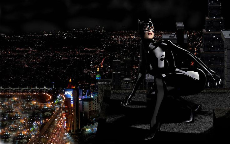3D Girls Cat Woman Photograph: http://www.wallpaperspub.net/pre-3d-girls-0052-3567.htm #Art #Widewallpapers #CatWoman #3DWoman