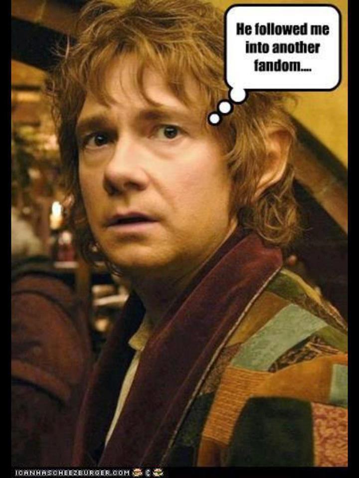 lol... From Sherlock to the Hobbit...